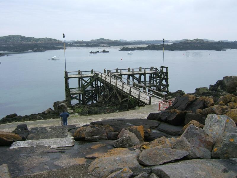 embarcadère marée basse