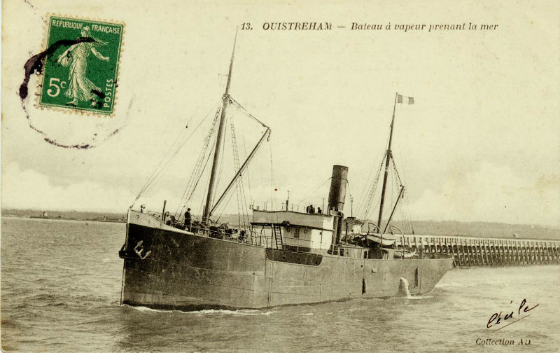 Le port de ouistreham for Chambre hote ouistreham