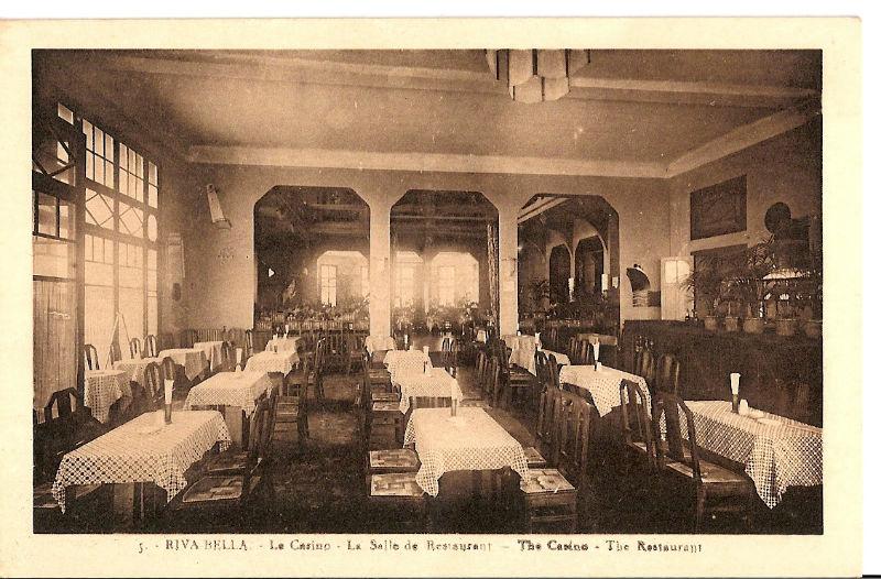 La salle de restaurant Casino