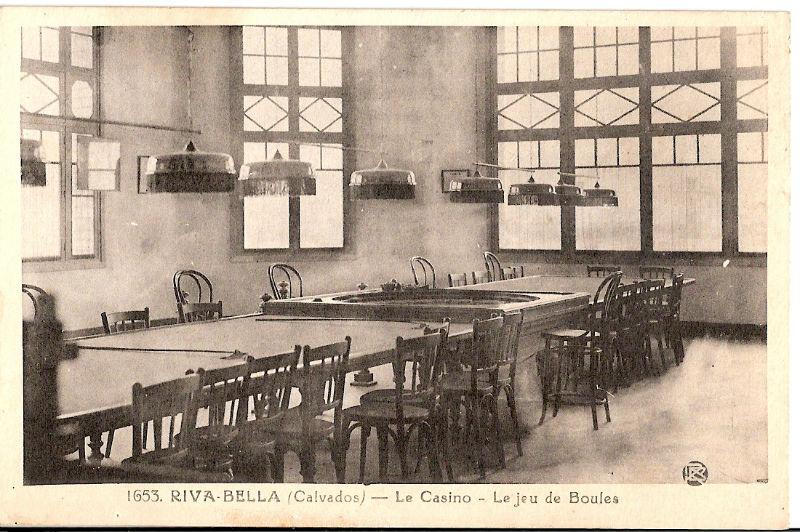 Le casino Ouistreham Riva Bella le jeu de boules