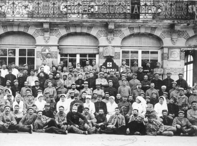 H pital temporaire ouistreham 1914 1918 for Chambre hote ouistreham