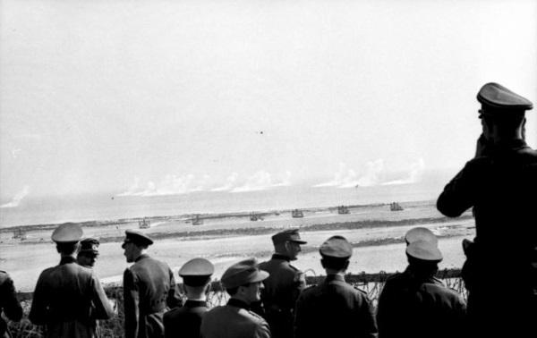 mai 1944 Rommel essai de tir les orgues d`himmler