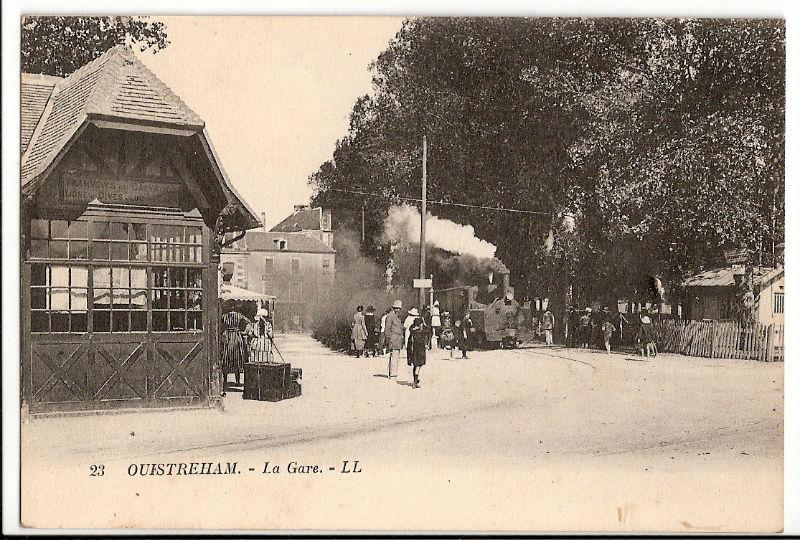 Ouistreham la gare du petit train (Decauville)